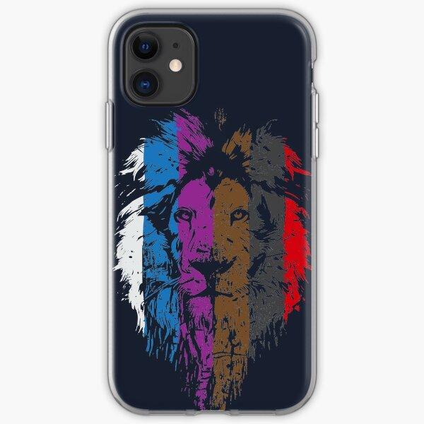 BJJ Belt Rank Lion Face for Jiu Jitsu iPhone Soft Case