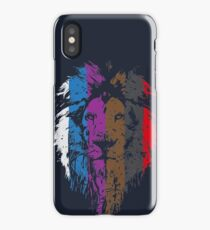 BJJ Belt Rank Lion Face for Jiu Jitsu iPhone Case/Skin