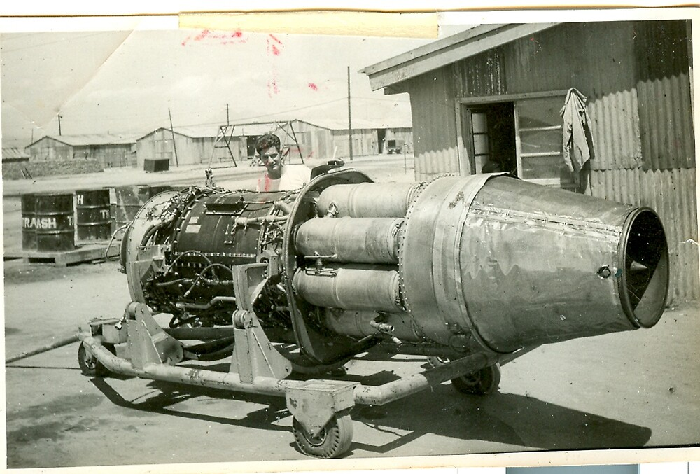 J-47 Engine for F-86 Sabre Jet by dummy