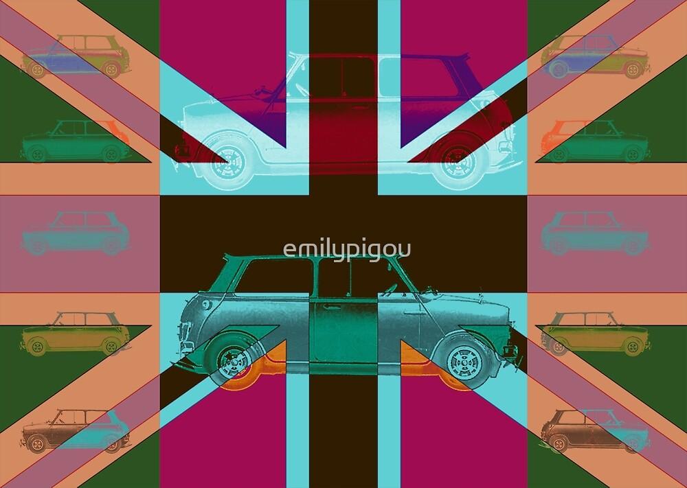 Vintage Cars Pink by emilypigou