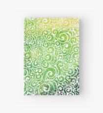 Swirly Chameleon Hardcover Journal