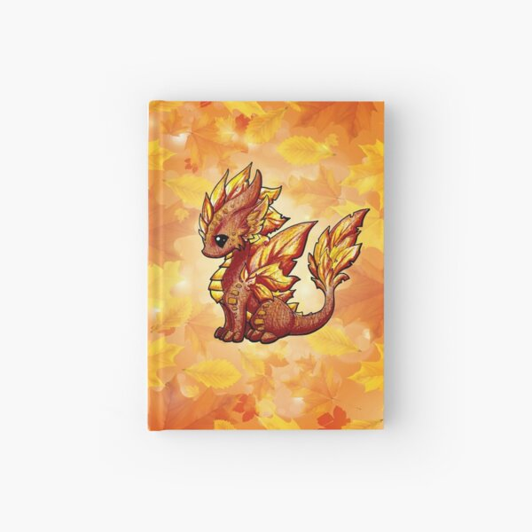 Autumn Dragon Hardcover Journal