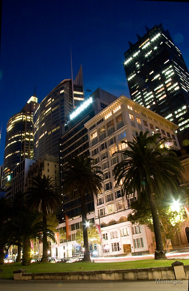 Macquarie Street Sydney by MiImages
