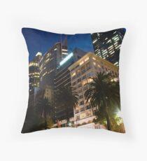 Macquarie Street Sydney Throw Pillow