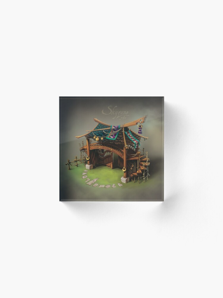 Bloc acrylique ''CROSSROADS by SkyzuneART': autre vue