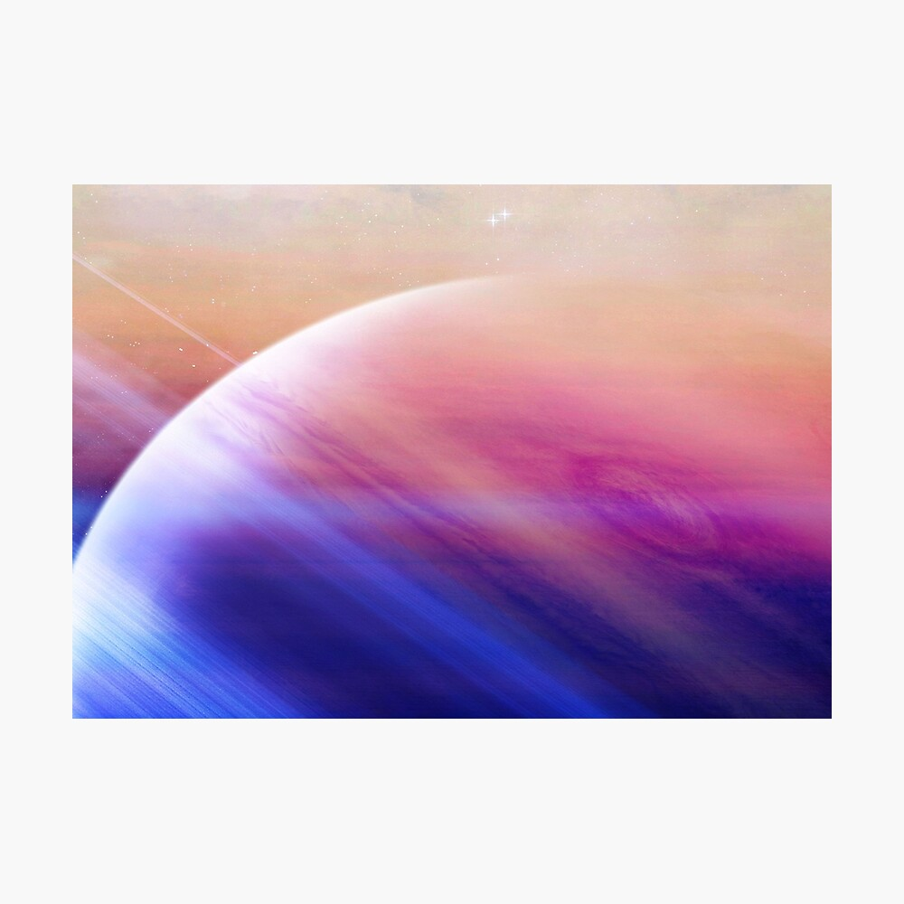 Return to the secrets of the galaxy  Photographic Print