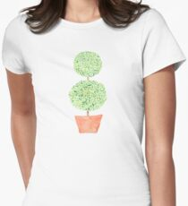 Topiary Women's Fitted T-Shirt