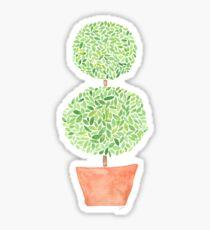 Topiary Sticker