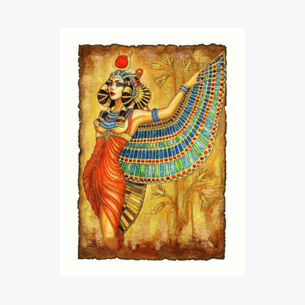 The Goddess Isis Art Print