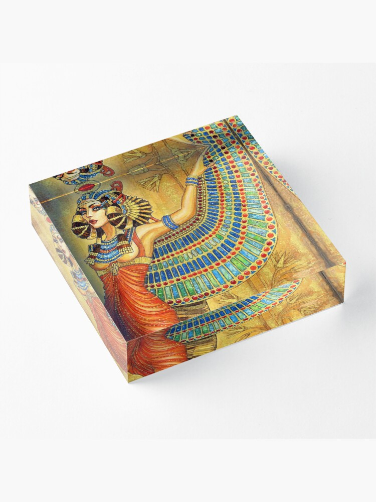 Alternate view of The Goddess Isis Acrylic Block