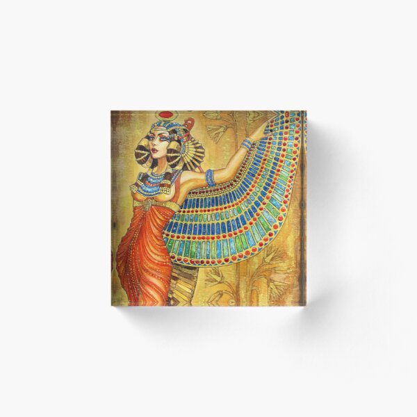 The Goddess Isis Acrylic Block