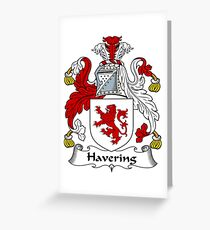Havering Greeting Card