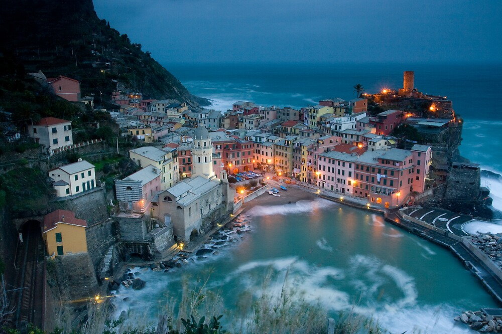 Postcard from Vernazza by Chris Putnam