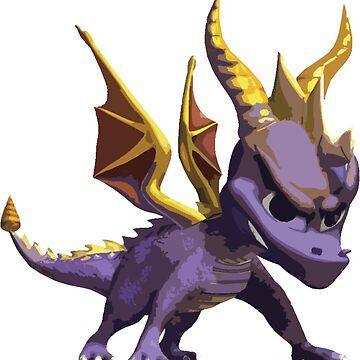 Spyro the dragon by paasikivi93