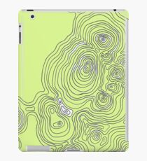 Topographic Sun iPad Case/Skin