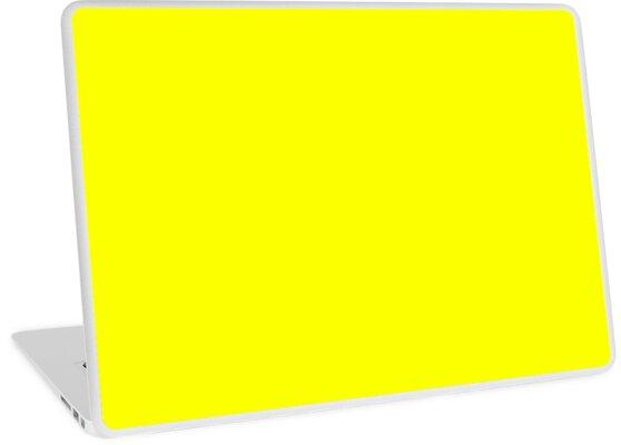 Neon fluoreszierendes Gelb   Gelb   neon Gelb / Fluro Gelb von ozcushions