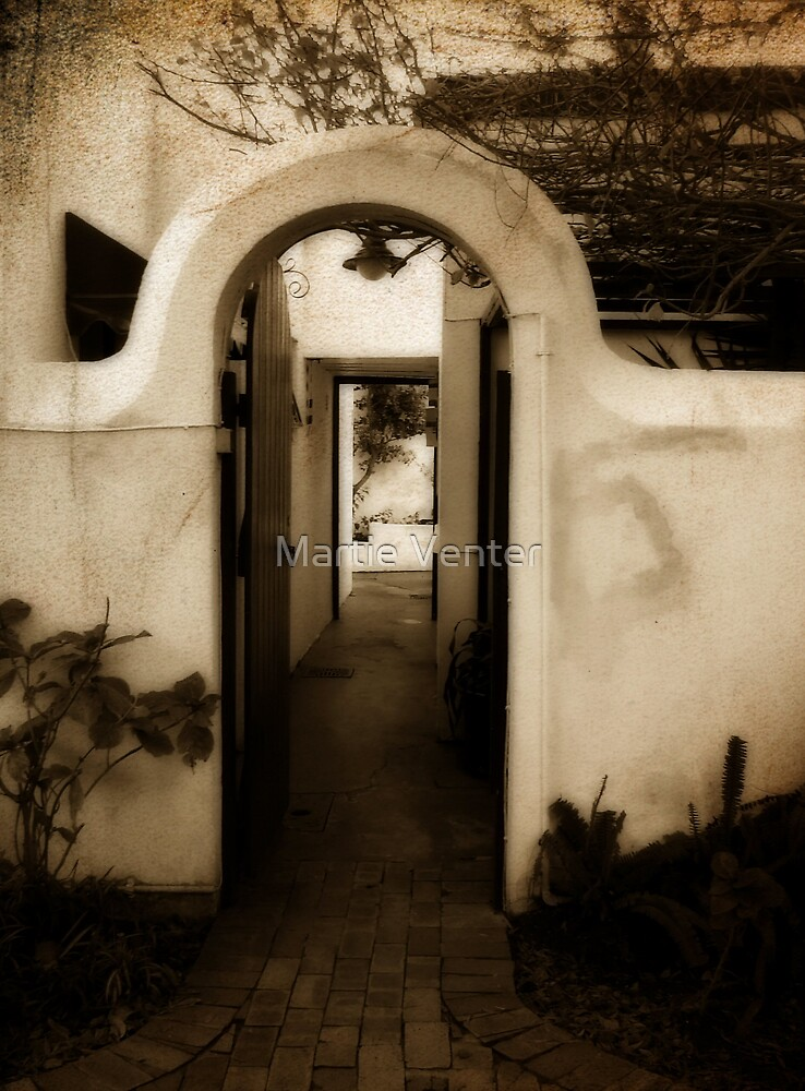 Ryneveld Lodge Alley by Martie Venter