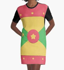 Grenada Graphic T-Shirt Dress