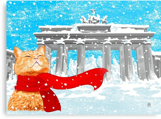 Christmas Cat (Tabby) by . VectorInk