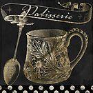 Bistro Parisienne Patisserie Gold by mindydidit