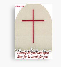 Caring Canvas Print