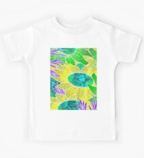 Floral Abstract Artwork Kids Clothes