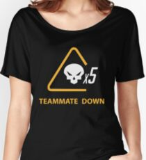 mercy team mate down Women's Relaxed Fit T-Shirt