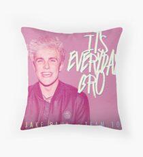 It's everyday bro Throw Pillow