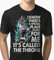 Goku Vegeta Tri-blend T-Shirt