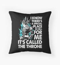 Goku Vegeta Throw Pillow