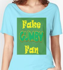 Fake Gumby Fan Women's Relaxed Fit T-Shirt