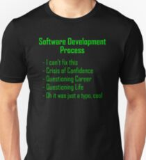 Software Development Humour - Green Design T-Shirt