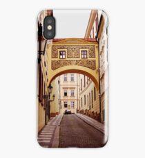Prague. Sgraffito arch iPhone Case