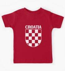 CROATIA 4 Kids Tee