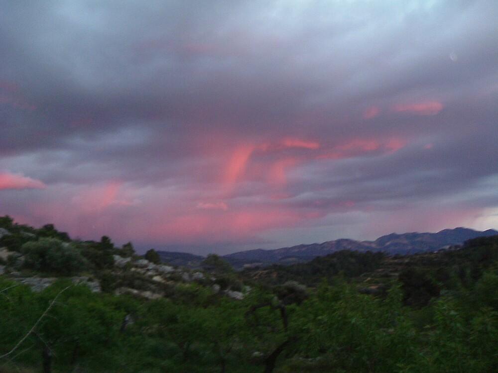 Angry sunrise by Jackiejax