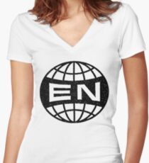 Everything Now Women's Fitted V-Neck T-Shirt