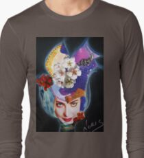 Tulip on the wind Long Sleeve T-Shirt