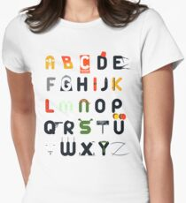 Pop culture alphabet T-Shirt