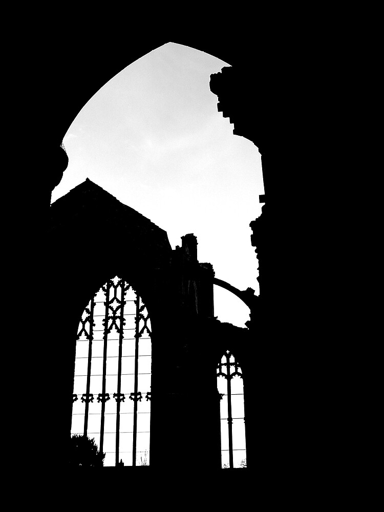 Melrose Abbey by Puffling