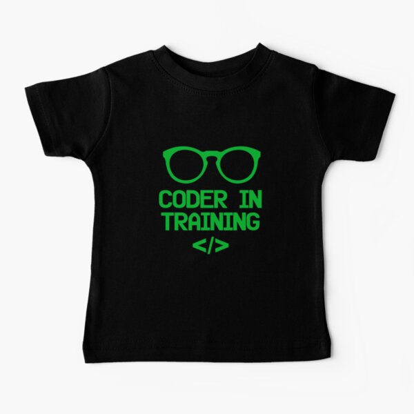 Coder in Training for Future Programmers Baby T-Shirt