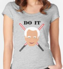 Emperor Palpatine - do it Women's Fitted Scoop T-Shirt