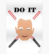 Emperor Palpatine - do it Poster