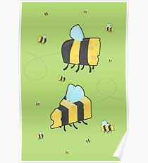 Bumble Cheese (green) Poster