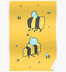 Bumble Cheese (yellow) Poster
