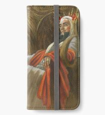 The Elf King throned iPhone Wallet/Case/Skin