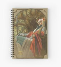 The Elf King throned Spiral Notebook