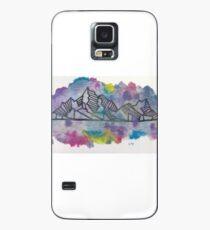 Mountain Range Case/Skin for Samsung Galaxy