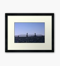 Marine Parkway Bridge Framed Print