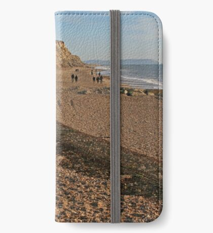 Hengistbury Head, Christmas Day 2014 iPhone Wallet