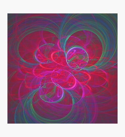 Orbital fractals Photographic Print